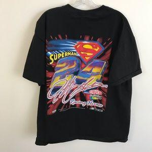 Chase Authentics Shirts - Jeff Gordon racing Superman 24 DuPont NASCAR